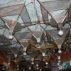 restaurant ceiling, Marine Drive, Chowpatty, Mumbai
