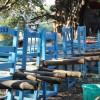 chair carriers, Elephanta Island