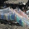 pastel laundry, Dhobi Ghat, Mumbai