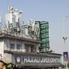 radiohead… juice bar with a crazy roof, Mumbai