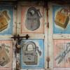 painted door, Ahmedabad
