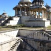 Step well at the Royal Cenotaphs, Udaipur