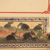 elephant frescoes in the palace, Kumbhalgarh Fort