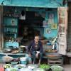 vegetable seller, Jodhpur (he was gorgeous!)