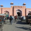one of the city gates, Jaipur (the pink city)