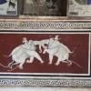 beautiful frescoes, Bundi palace