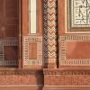Amazing stone details, Akbar's tomb, Agra